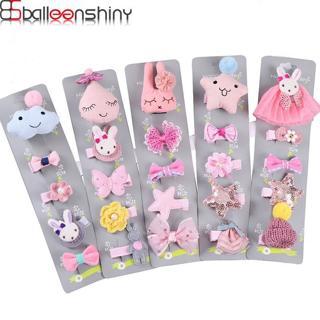 BalleenShiny Cute Baby Girls Animal Cartoon Hairpin Kids Rabbit Doll Hair Clip Princesses Heaadwea