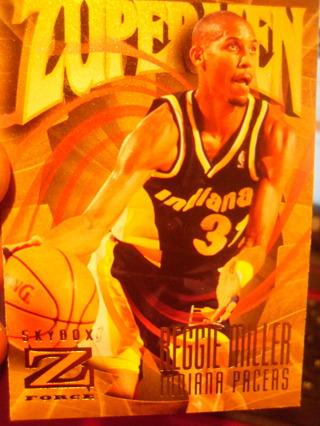Reggie Miller Basketball Card