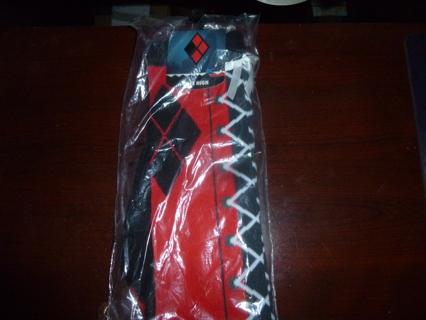 New Harley Quinn Knee High Socks
