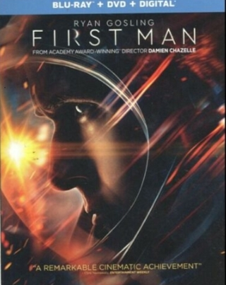 First Man w/Slipcase (Blu-ray + DVD + Digital Copy) Ryan Gosling FREE SHIPPING