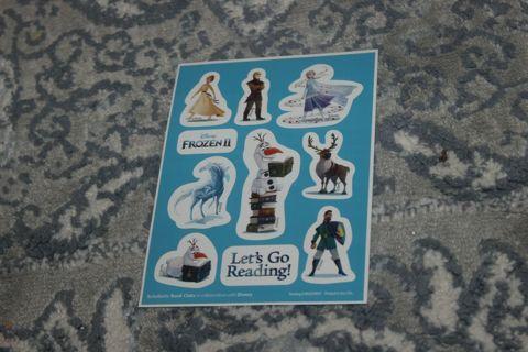 Frozen II Two Stickers Disney Olaf BRAND NEW!!!! --------