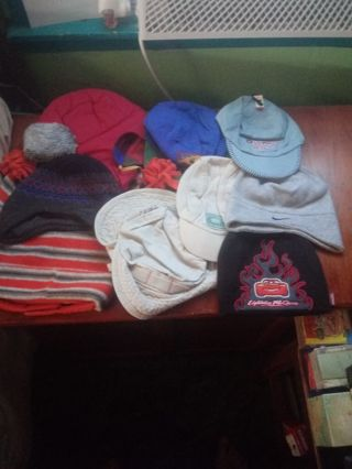Infant and Toddler Hats New and Used