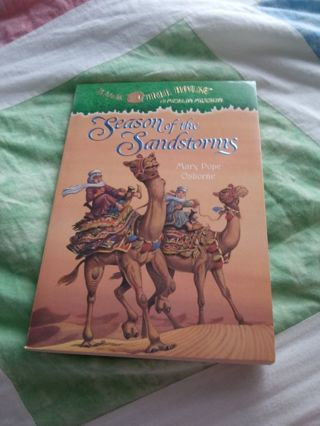 Magic Tree House Book a Merlin Mission Season of the Sandstorms