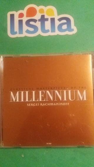 cd  millennium  segei rachmaninoff  free shipping