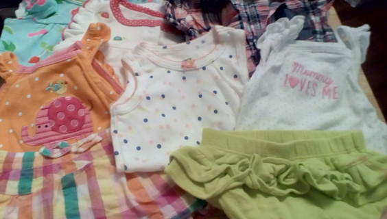 Girls Size (0-3) Months Clothing: EUC