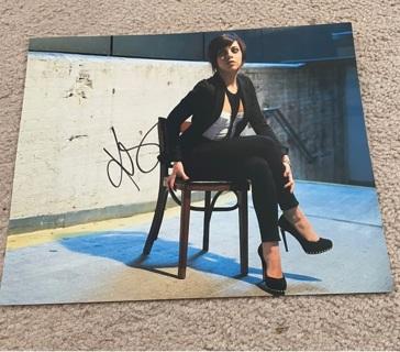 Krysta Rodriguez autographed 8x10 photo