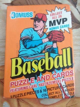 (LAST ONE) Sealed Pack - 1990 Donruss Baseball Trading Cards