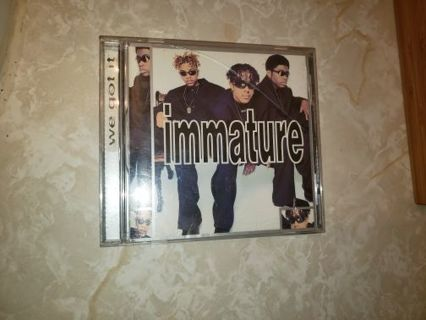 Immature Cd We Got It