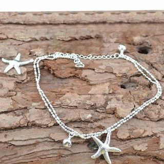 elegant Starfish Anklet Ankle Bracelet Chain Barefoot Sandal Beach Foot Jewelry