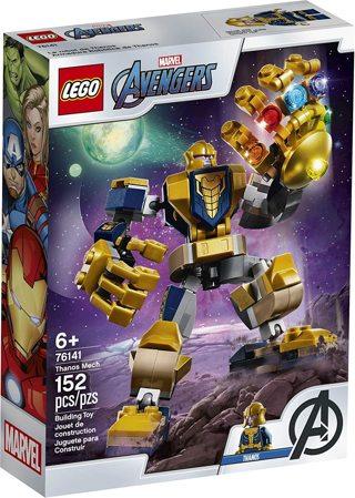 NEW - LEGO SET - Super Heroes Thanos Mech 76141 - New 2020 (152 Pieces) [LT01]