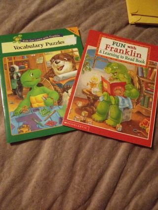 Two New Franklin Learning Workbooks