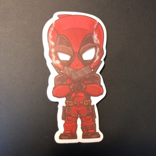 Deadpool Vinyl Sticker - Marvel X-Men