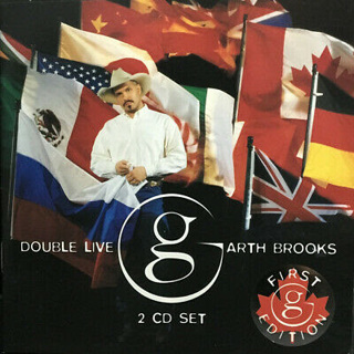 Garth Brooks Double live 2 cd set - First Edition