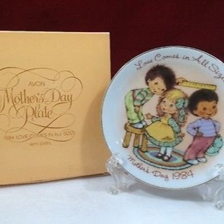 Year 1984 Mother's Day Plate,  Great Gift!, FREE Shipping!