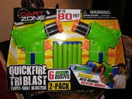 DART ZONE COVER OPS DART GUN=Free shipping