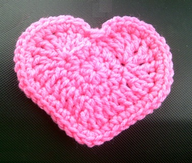 Free: Another Heart Coaster, Mug Rug