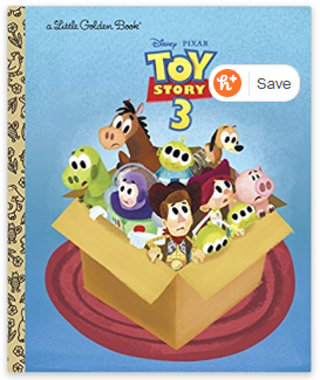 Toy Story 3 (Disney/Pixar Toy Story 3) (Little Golden Book) Hardcover