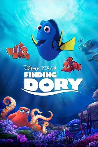 Finding Dory - HD digital movie code Google Play redeem