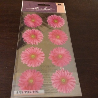 Sticko daisy stickers