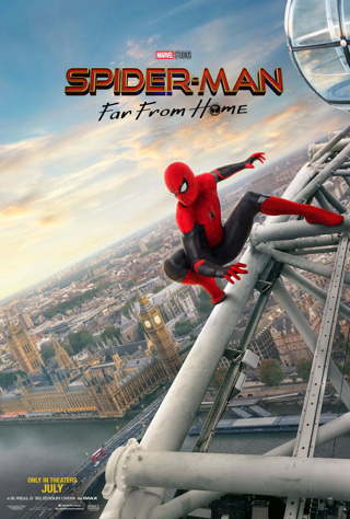 SPIDERMAN FAR FROM HOM VUDU HD INSTAWATCH