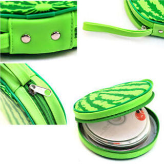 Wallet Disc CD DVD Case Carrying Bag Watermelon Shape Storage Bag Box