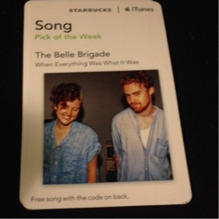 Free: Itunes /starbucks Song Of The Week Download Code