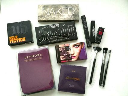 MAC GIVENCHY URBAN DECAY SMOKEY PURPLE PINK & BLACK AUCTION ☆ ☆°•Kazzah Auction Series
