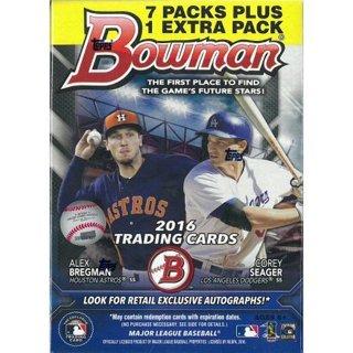 Los Angeles Dodgers - BOX BREAK - 2016 Bowman Baseball Blaster