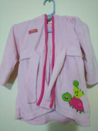 Baby girl robe just one you