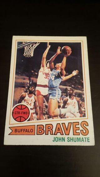 1977 John Shumate · BRAVES