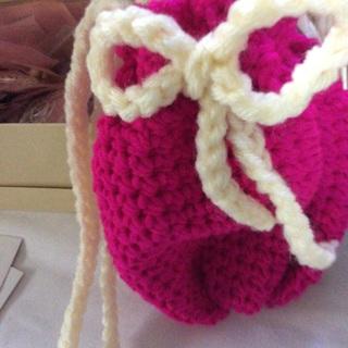 Brand New Crochet Cotton Cross Body Sack/Purse.
