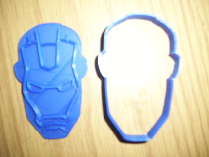 Iron Man Cookie Cutter -  (3D Printed Plastic)