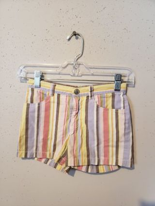Gymboree Multicolored Striped Shorts Size 8 Girls +++ FREE SHIPPING +++