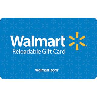 $10.00 WALMART RELOADABLE GIFT CARD