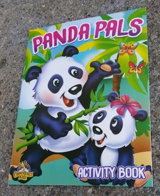 MEDIUM COLORING AND ACTIVITY BOOK PANDA PALS