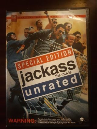 Jackass unrated Special Edition DVD ~BUY 3 GET 1 FREE on all DVD and blurays~