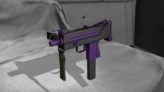 Free: MAC-10 | Indigo - Counter Strike: Global Offensive (CS