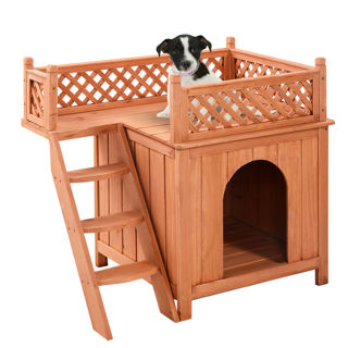 Wood Pet Dog House Wooden Or use for your cat :)