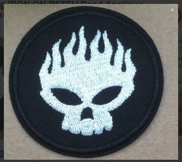 1 NEW The Offspring IRON ON PATCH Band Applique Clothing Accessory BADGE Adhesive