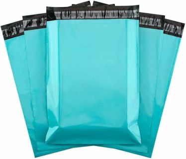 "⭐LOW GIN* 200 "" 6x9 "" TEAL POLY MAILERS ⭐"