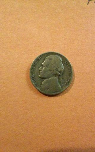 1942-P Silver War Nickel, 35% Silver. #33