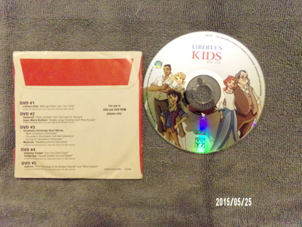 """Liberty's Kids """"Midnight Ride"""" and """"The Turtle"""" DVD"""