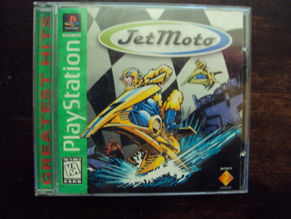 Jet Moto (Sony PlayStation) PS1 Greatest Hits Game Complete