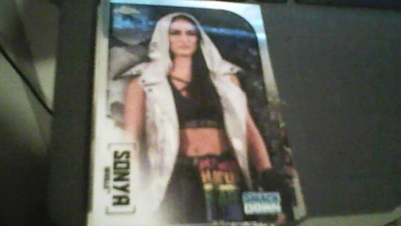 2020 WWE Topps Chrome Sonya Deville Wrestling card