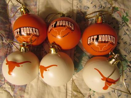 Free: TEXAS LONGHORNS CHRISTMAS TREE ORNAMENTS BRAND NEW 2