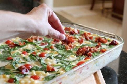 ✻(New) BLT Mac & 3 Cheese Casserole Recipe ✻