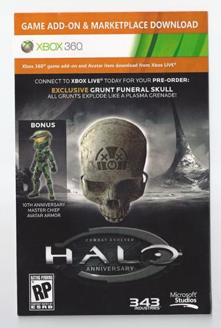 Free: Xbox 360 Master Chief Avatar Armor Suit DLC Content