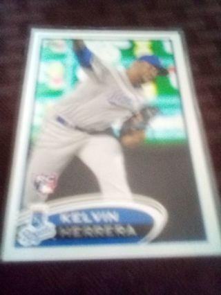 2012 Topps #211 Kelvin Herrera RC