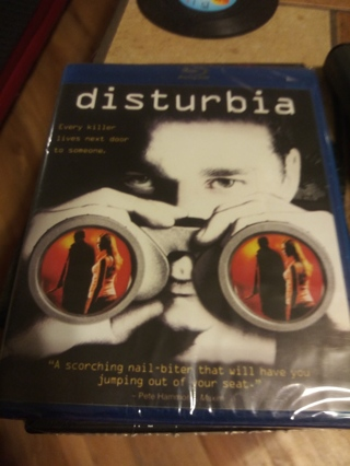 DISTURBIA BLUE RAY FACTORY SEALED