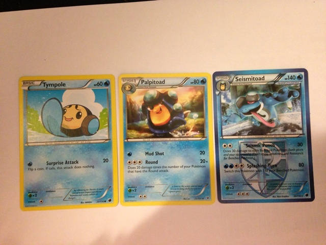 Free Pokemon Tympole Evolution Cards Listia Com Auctions For Free Stuff It is vulnerable to grass and electric moves. listia